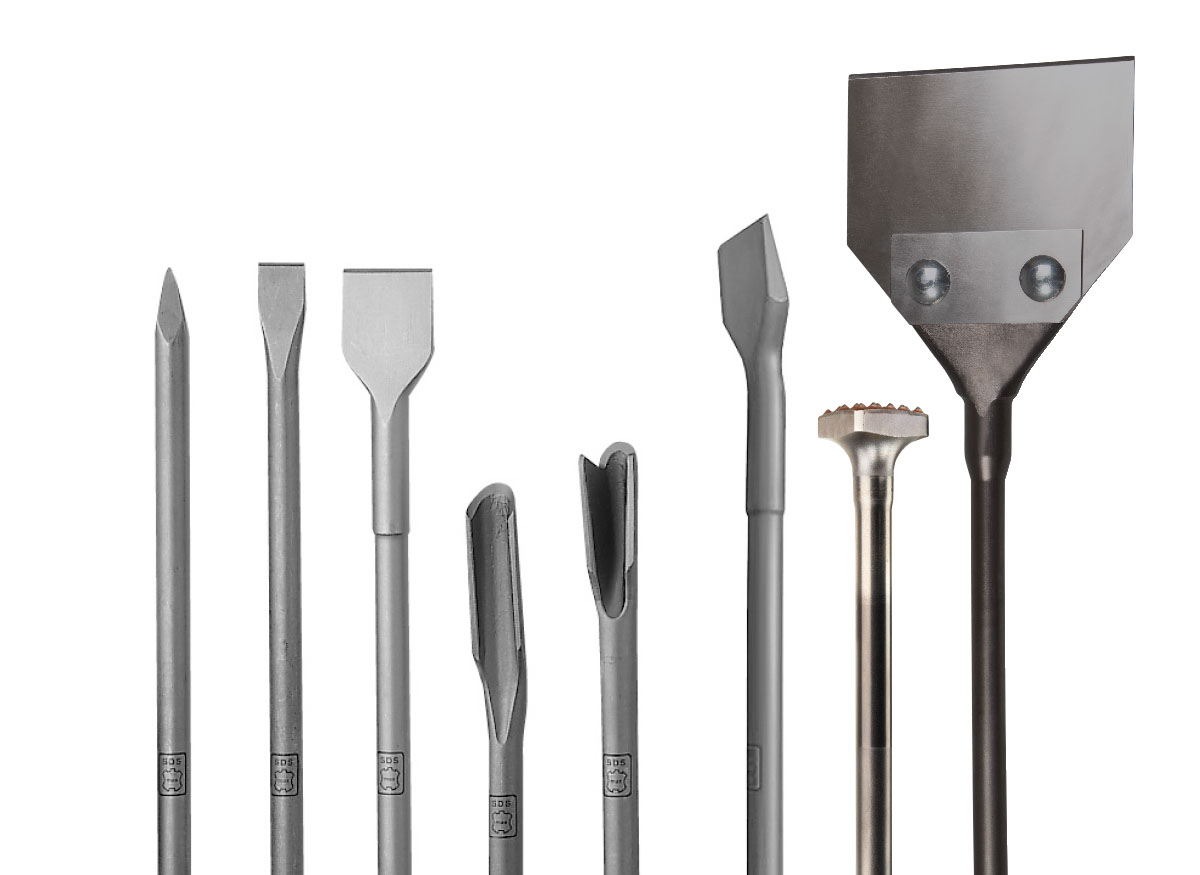 Super SDS-max Meissel - DUSS | Bohr- und Meisseltechnik | Diamantbohrtechnik BR49